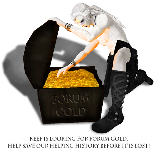 Keef looks for Forum Gold